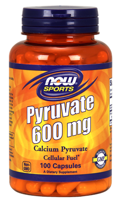 Now Foods Pyruvate 600 mg - 100 Capsules